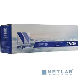 NV Print CF400XBK Картридж  для  HP Laser Jet Pro M252dw/M252n/M274n/M277dw/M277n, 2300к., BLACK