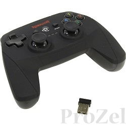 Redragon Беспроводной геймпад Harrow USB Xinput-PS3, радио, Li-Ion [64230]
