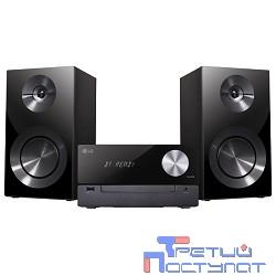 LG CM2460 черный 100Вт/CD/CDRW/FM/USB/BT