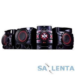 LG CM4560 черный 700Вт/CD/CDRW/FM/USB/BT