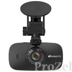 "ParkCity DVR HD 740 видеорегистратор, камера 1/3"" КМОП (3Мп), фото/видео, 2304х1296, 1920х1080, 1280х720, 30 К/С, видео формат MP4, кодек H.264,  непрерывная/цикличная запись, кар"