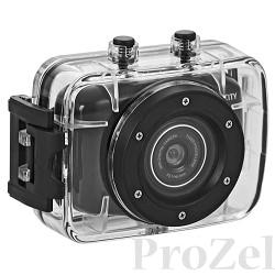 """ParkCity GO 10 PRO экшн-камера, камера 1/4"""" КМОП (1 Мп), фото/видео/авто видео, разрешение записи 1280x720 (30 к/с), 640x480 (60 к/с), видео формат AVI, кодек MJPEG,  непрерывная/цикличная запись"""