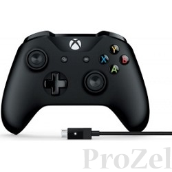 Microsoft GAMEPAD Xbox Controller + Cable for Windows [4N6-00002]