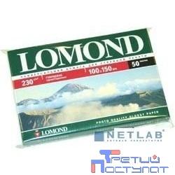 LOMOND 0102035 Глянцевая фотобумага 10x15 230г/м2, 50л.