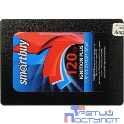 Smartbuy SSD 120Gb Ignition Plus SB120GB-IGNP-25SAT3 {SATA3.0, 7mm}