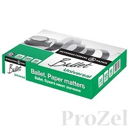 Бумага офисная BALLET Universal  95% А4 80г/м 500л (ColorLok) (отпускается коробками по 5 пачек в коробке)