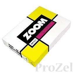 Бумага офисная ZOOM А4 95% 80г/м 500л (отпускается коробками по 5 пачек в коробке)