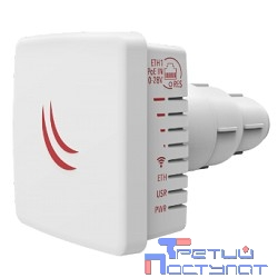 MikroTik LDF 5 (RBLDF-5nD) with 9dBi integrated 5GHz antenna, Dual Chain 802.11an wireless, 600MHz CPU, 64MB RAM, 1x LAN, outdoor case, POE