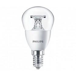 Лампа светодиодная 543443  Philips Corepro lustre ND 5.5-40W E14 840 P45 CL