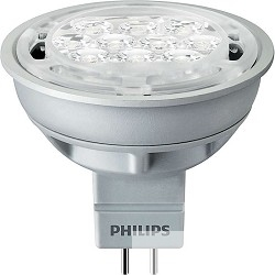 Лампа светодиодная 579558  Philips Essential LED 5-50W 2700K MR16 24D