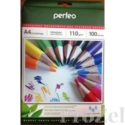 Perfeo PF-GLA4-110/100 Бумага Perfeo глянцевая 100л, A4 110 г/м2 (G09)