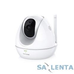 TP-Link NC450 Поворотная облачная Wi-Fi HD-камера с ночным видением 720p HD угол обзора — 360° по горизонтали и до 150° по вертикали (угол поворота/наклона: 300°/110° Обнаружение звука и движения
