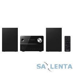 Pioneer X-EM26-B черный {10Вт/CD/CDRW/FM/USB/BT}