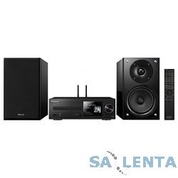 Pioneer X-HM76-B черный {100Вт/CD/CDRW/FM/USB/BT}