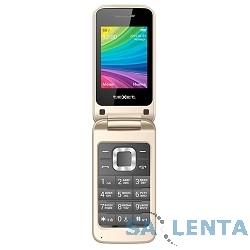 TEXET TM-204 мобильный телефон цвет бежевый