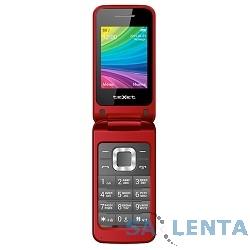 TEXET TM-204 мобильный телефон цвет красный