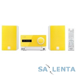 Pioneer X-CM35-Y желтый {30Вт/CD/CDRW/FM/USB/BT}