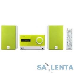 Pioneer X-CM35-N зеленый {30Вт/CD/CDRW/FM/USB/BT}