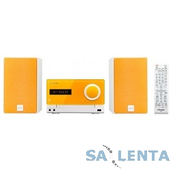 Pioneer X-CM35-D оранжевый {30Вт/CD/CDRW/FM/USB/BT}