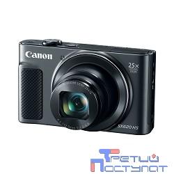 Canon PowerShot SX620 HS черный {20.2Mpix Zoom25x 3