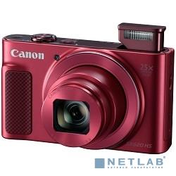 Canon PowerShot SX620 HS красный {20.2Mpix Zoom25x 3'' 1080p SDXC/SD/SDHC CMOS 1x2.3 IS opt 5minF 2.5fr/s 30fr/s HDMI/WiFi/NB-13L}