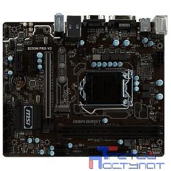 MSI B250M PRO-VD {B250 2xDDR4-2133 PCI-Ex16 DVI/DSub 8ch 6xSATA3 M2 SATA-Ex 4xUSB3 GLAN mATX} RTL