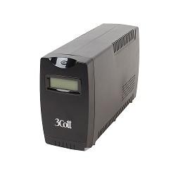 3Cott ИБП Smart 850 850VA/<wbr>480W Display, USB, AVR, RJ11 (4 IEC) 0358536