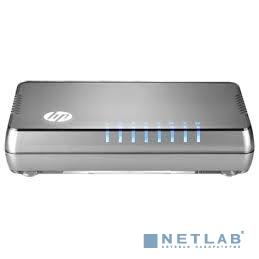 HP JH408A Коммутатор HPE 1405 8G v3 неуправляемый настольный 8x10/100/1000BASE-T