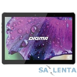 Tablet PC Digma Plane 1506 4G MT8735P 4C/1Gb/8Gb 10.1″ IPS 1280×800/3G/4G/And6.0/черный/BT/GPS/2Mpix  [PS1084ML]