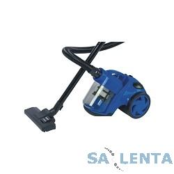 Пылесосы SUPRA VCS-1624 blue, 1600 Вт, циклон, мультициклон