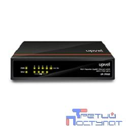 UPVEL UP-215SGE Гигабитный 5-портовый PoE+ коммутатор с четырьмя PoE+ портами до 30Вт на порт (внешний блок питания, возможность получать питание по PoE, Maximum PoE Output Power: 70W)