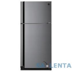 Холодильник Sharp SJ-XE55PMSL серебристый