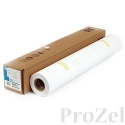 HP Q8918A Глянцевая фотобумага повседневного использования для пигментных чернил – 1067 мм x 30, 5 м 235г/м2