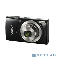 Canon IXUS 185 черный {20Mpix Zoom8x 2.7'' 720p SD CCD 1x2.3 IS el 1minF 0.8fr/s 25fr/s/NB-11LH}