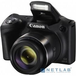 Canon PowerShot SX430 IS черный {20.5Mpix Zoom45x 3'' 720p SDXC/SD/SDHC CCD 1x2.3 IS opt 0.5fr/s 25fr/s/WiFi/NB-11LH}