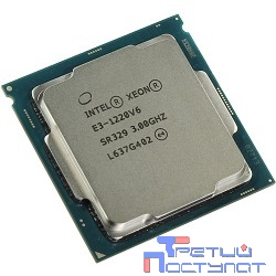 CPU Intel Xeon E3-1220v6 Kaby Lake OEM {3.0ГГц, 8Мб, Socket1151}