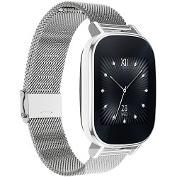 """ASUS ZenWatch2 смарт часы диагональ 1.45"""" , silver with metal silver"""