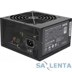 Cooler Master MasterWatt Lite 600W (MPX-6001-ACABW-EU) ATX, 120mm, 6xSATA, 2xPCI-E(6+2), APFC, 80+