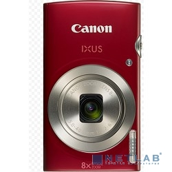 Canon IXUS 185 красный {20Mpix Zoom8x 2.7'' 720p SD CCD 1x2.3 IS el 1minF 0.8fr/s 25fr/s/NB-11LH}