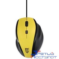 Jet.A Comfort OM-U59 Yellow USB {Проводная мышь, 1000/1600dpi, 3 кнопки}