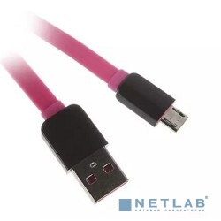 Кабель Continent  USB A - микро USB В 2.0 1м  QCU-5102PN