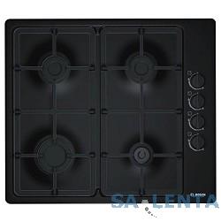 Газовая варочная поверхность Bosch PBP6C6B90 черный