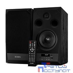 SVEN АС MC-20, чёрный (90 Вт, FM-тюнер, USB/microSD, дисплей, ПДУ, Bluetooth, Optical)
