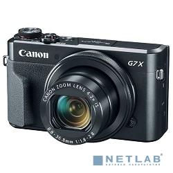 Canon PowerShot G7 X MARKII черный {20.2Mpix Zoom4.2x 3'' 1080p SDXC/SD/SDHC CMOS IS opt 5minF rotLCD TouLCD VF 4.4fr/s RAW 60fr/s HDMI/WiFi/NB-13L}