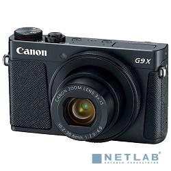 Canon PowerShot G9 X Mark II черный {20.9Mpix Zoom3x 3'' 1080p SDXC CMOS IS opt 5minF TouLCD 6fr/s RAW 60fr/s HDMI/WiFi/NB-13L} [1717C002]