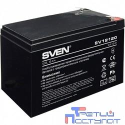 Sven SV12120 (12V 12Ah) батарея аккумуляторная