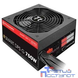 Блок питания Thermaltake Smart DPS SPG-0750DPCG 80+ gold (24+4+4pin) APFC 140mm fan 8xSATA  PS-SPG-0750DPCGEU-G