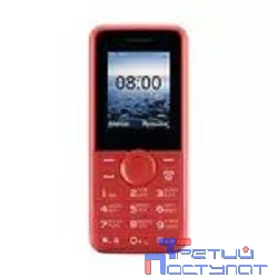 Philips E106 Red Мобильный телефон {  красный моноблок 2Sim 1.77