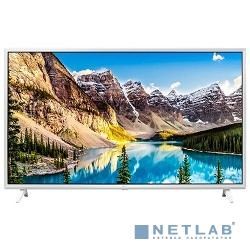 LG 43'' 43UJ639V белый {Ultra HD/100Hz/DVB-T2/DVB-C/DVB-S2/USB/WiFi/Smart TV (RUS)}