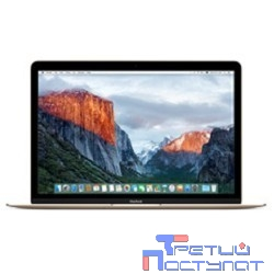 Apple MacBook [Z0U20003V] 12-inch MacBook - Gold/1.4GHz Intel Dual-Core Core i7, Turbo Boost up to 3.6GHz/16GB 1866MHz LPDDR3 SDRAM/512GB Flash Storage/Intel HD Graphics 615